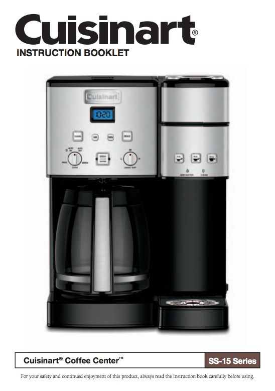 32 best Coffeemaker Manuals images on Pinterest