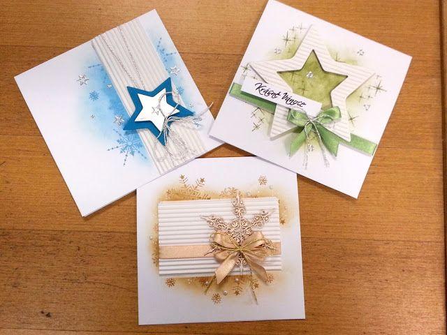 KATY SCRAP: Jednoduchá vánoční přání