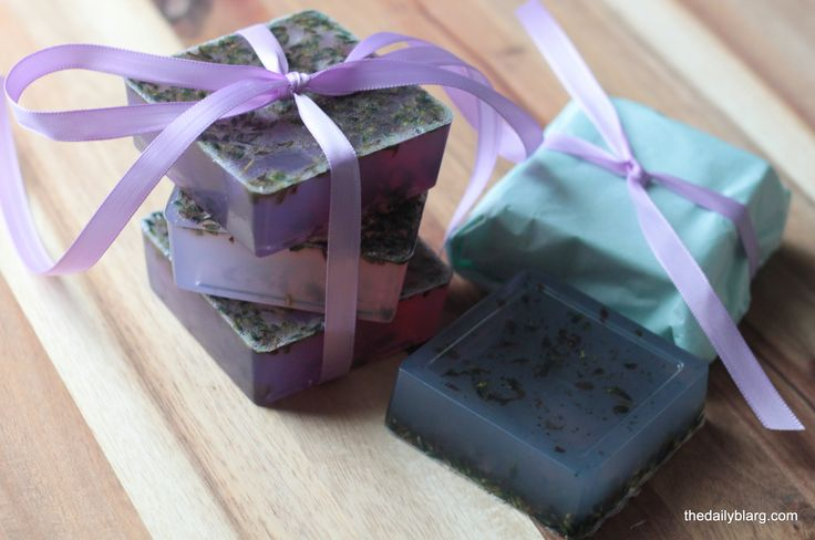 1000 images about crafts on pinterest glycerin soap homemade and plastic spoons - Homemade soap with lavender the perfect gift ...