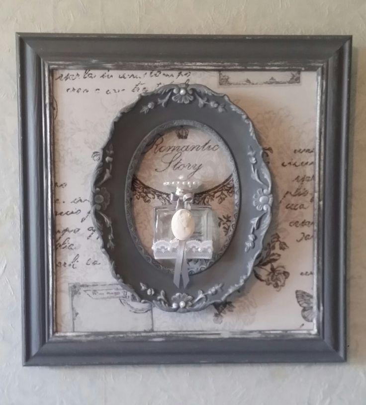 Les 25 meilleures id es de la cat gorie miroir shabby chic for Petit miroir original