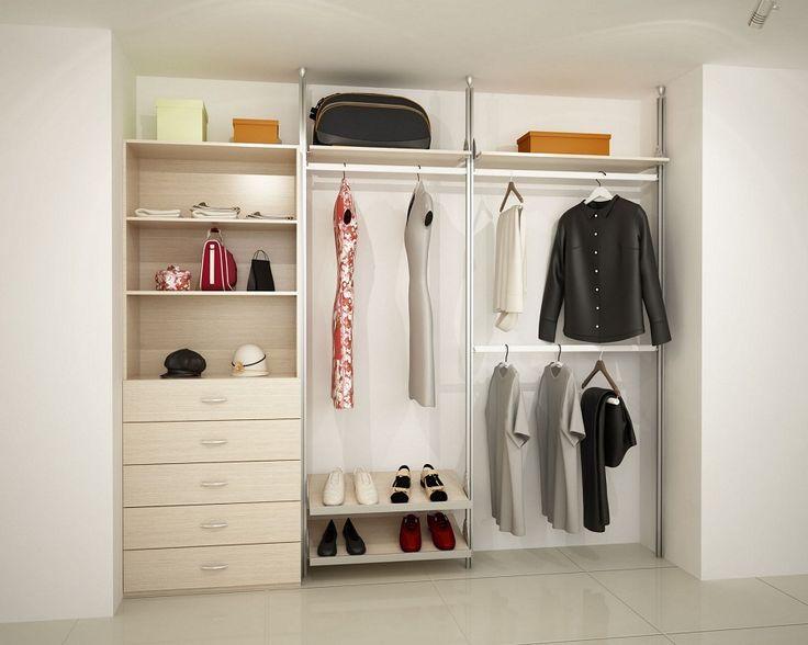 17 mejores ideas sobre puertas de closet en pinterest closet sin puertas puertas closet y - Armario sin puertas ...