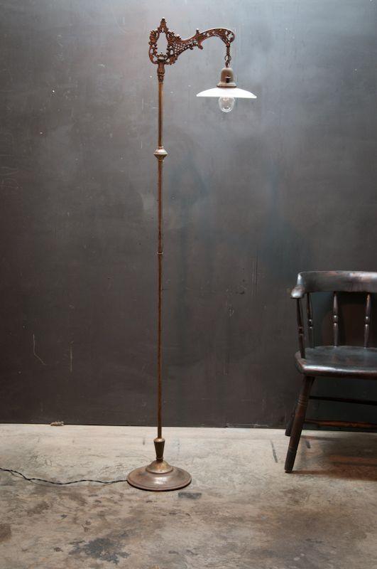 Linear Holophane Victorian Floor Lamp : Factory 20
