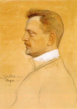 Sibelius (Albert Edelfelt, 1904)