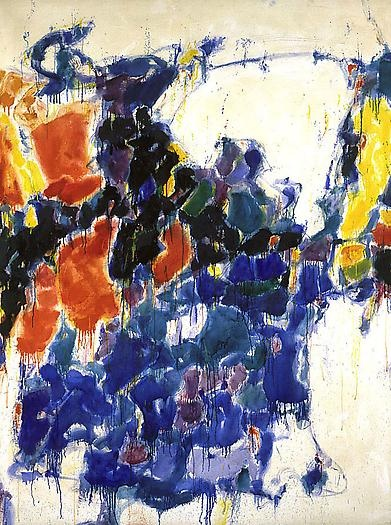 Summer, painting by Sam Francis