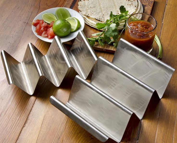 Make Stunning Presentations with these durable, stackable and expandable Taco Holders