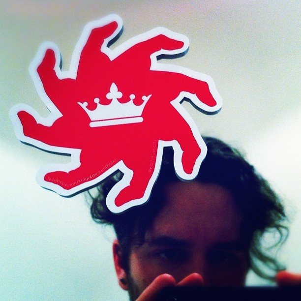 King of the Iron Thumb Sticker #1