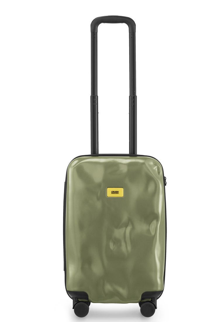 Crash Baggage Military Green 4 wheels