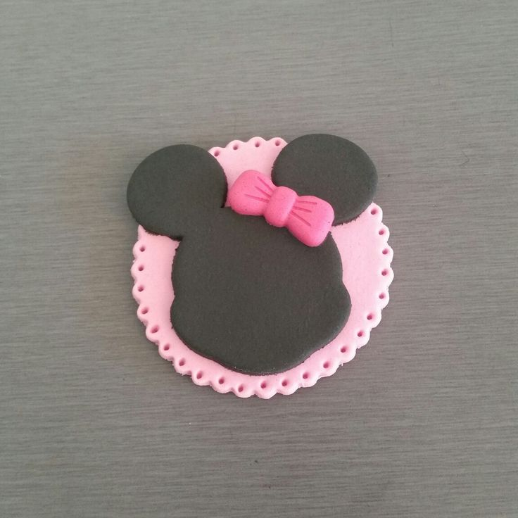 Monnie Mouse Cupcake toppers