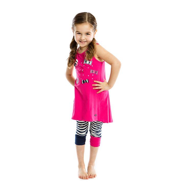 Nanö Collection BONHEUR SUCRÉ Printemps-Été 2017. Prêt-à-porter filles 12 mois à 12 ans. / SWEET HAPINESS Spring-Summer 2017. Sportswear girls 12 months to 12 years.