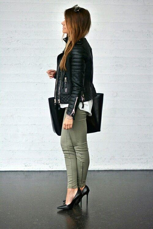 Love khaki jeans