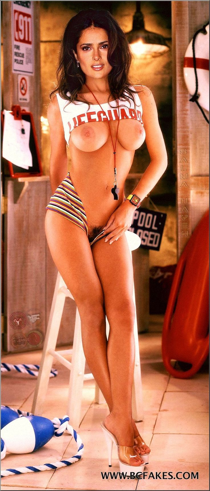 salma hayek pussy nude