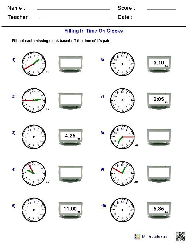 22 best Telling Time Printables images on Pinterest | Learning, The ...