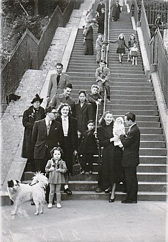Escalier rue Muller - Photo François Gabriel