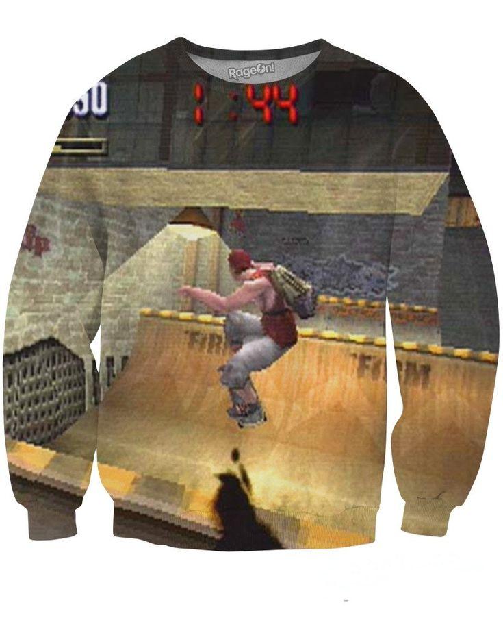 New in store: Tony Hawk Pro Ska... check it out on http://nxy-designs.myshopify.com/products/tony-hawk-pro-skater-sweatshirt?utm_campaign=social_autopilot&utm_source=pin&utm_medium=pin #shopping