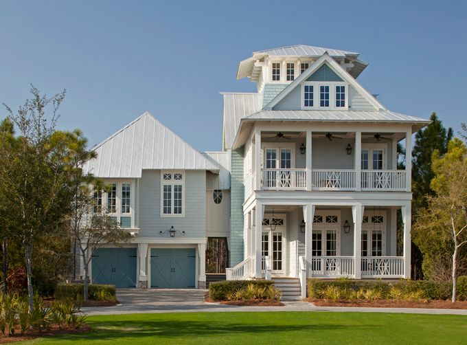 I <3 this house beyond words and the name of the town... WaterColor, FL up by Fort Walton Beach. | House of Turquoise