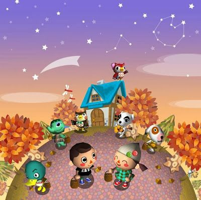 La isla de Animal Crossing: Otoño en Animal Crossing wild world y New Leaf