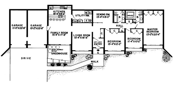 Best 25+ Underground House Plans Ideas On Pinterest