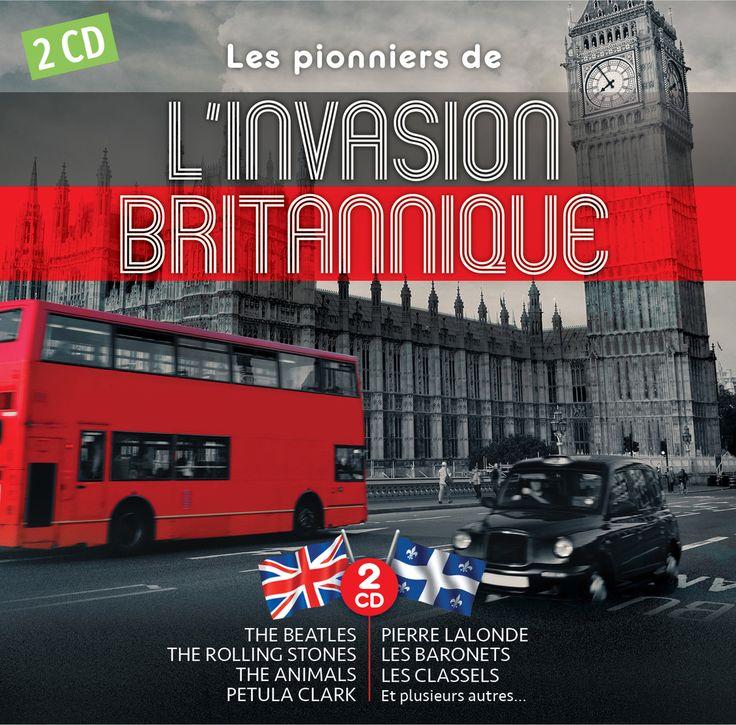 Les pionniers de l'invasion britannique - Artistes variés - 2CD -   Nombre de titres : 26 titres -   Référence : 00047619 #CD #Musique #Cadeau