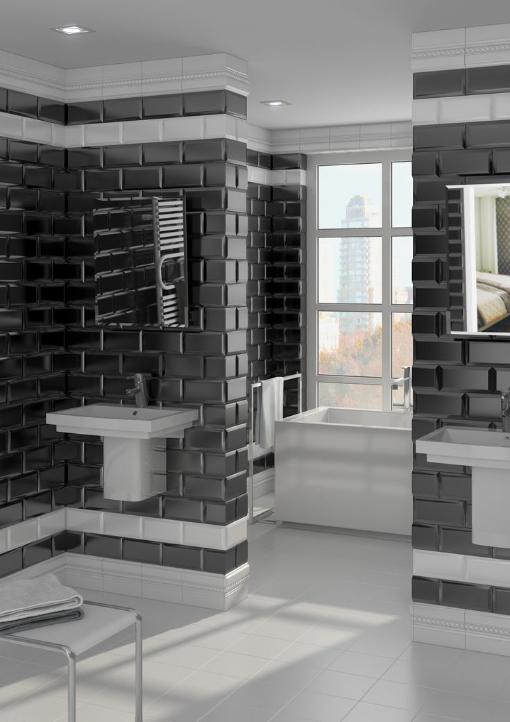 The Mugat Collection Offers Bevelled Wall Tiles In A Glossy Finish |  Heritage Tiles Www. Design BathroomTile ... Part 92