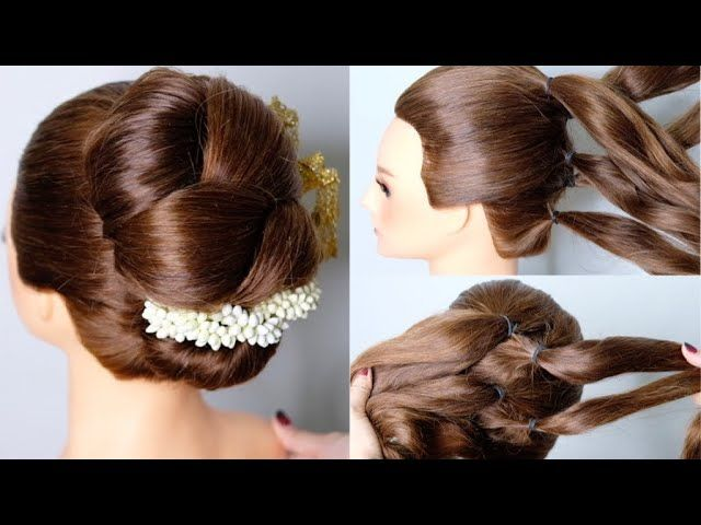 Thai Wedding Hair Style Classy Hairstyle Tutorial ทรงผม
