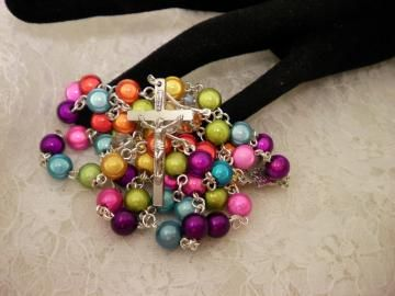 My DADS Miracle Rosary Beads by ShellysUniqueJewelry for $28.00