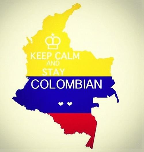 Stay Colombian!