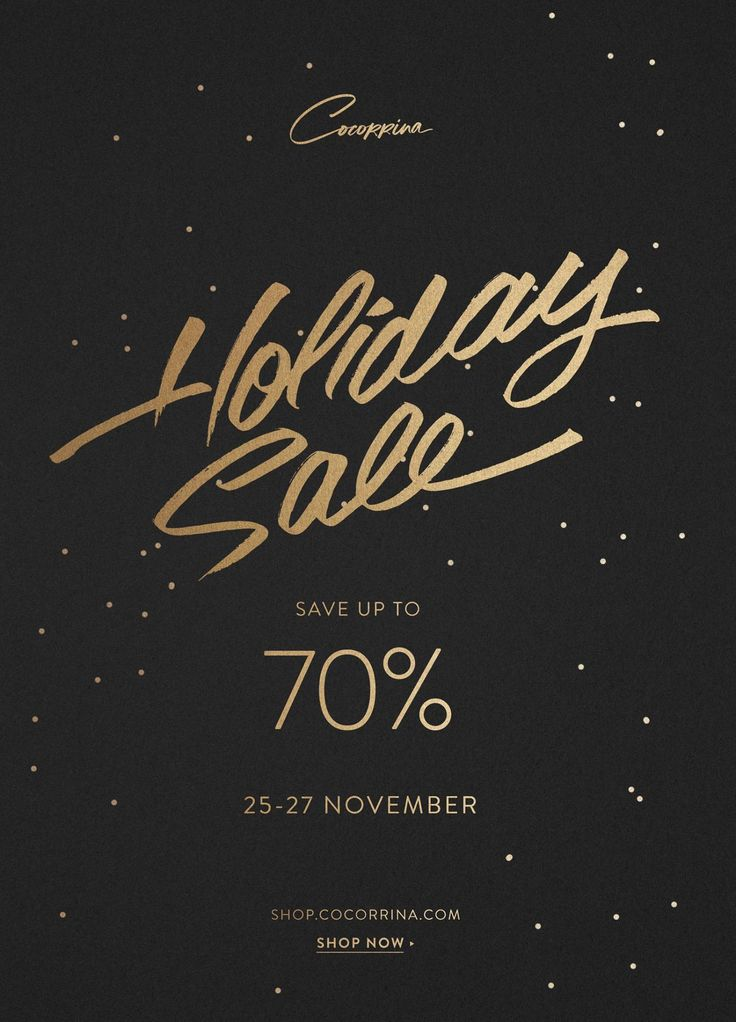 Cocorrina Holiday Sale