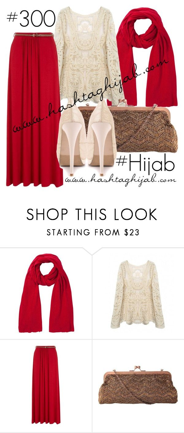 Hashtag Hijab Outfit #300 by hijabhaul on Polyvore featuring 2 Lips Too, J. Furmani, John Lewis and hijab