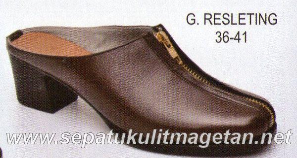 Sepatu Kulit Asli Wanita CJ G.Relseting