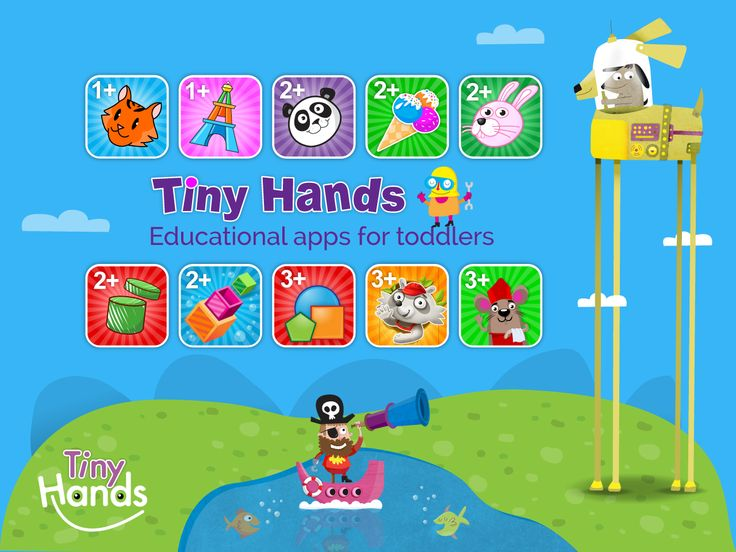 Welcome to TinyHands Educational apps for toddlers  - široká paleta hier pre najmenších