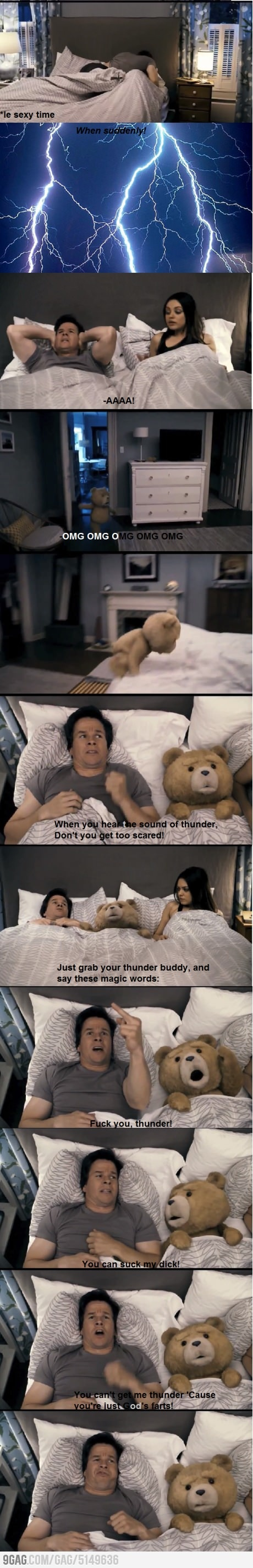 Fucking awesome movie!!! Thunder buddies for life!!