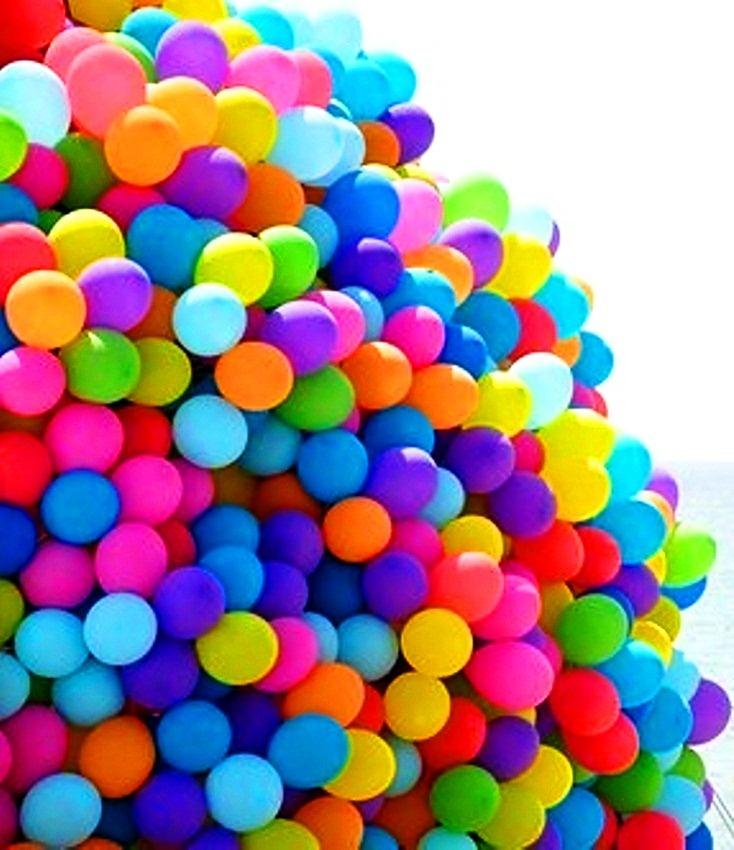 Rainbow colors ❖de l'arc-en-ciel❖❶Toni Kami Colorful bunch of balloons