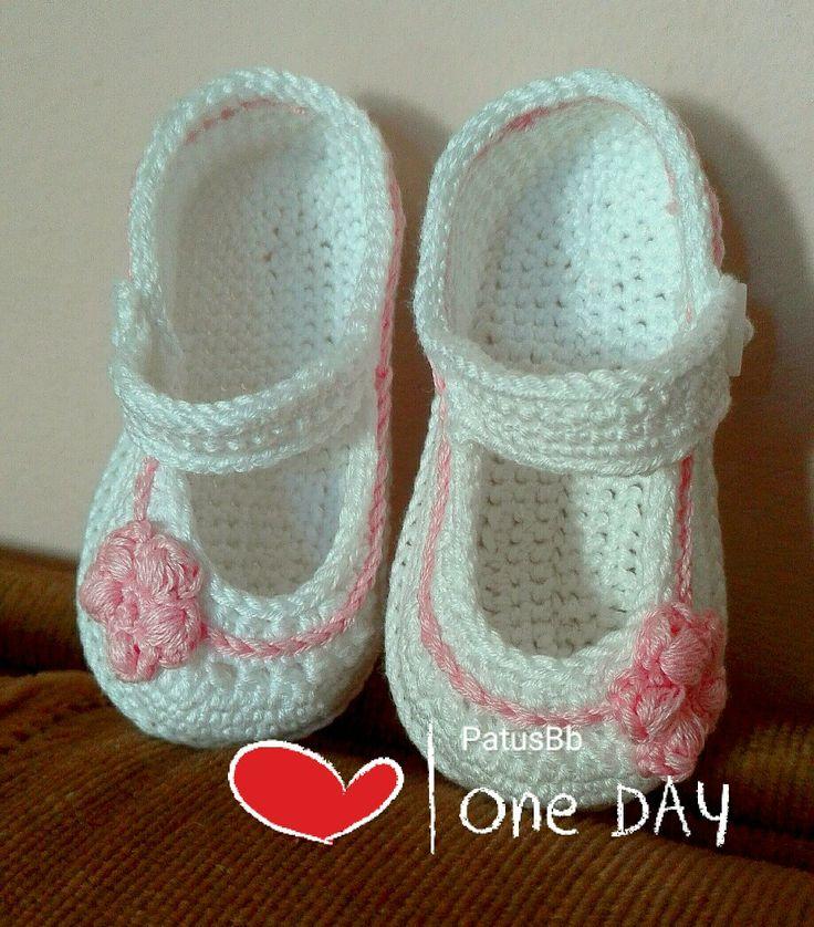 Mercedita crochet rosa