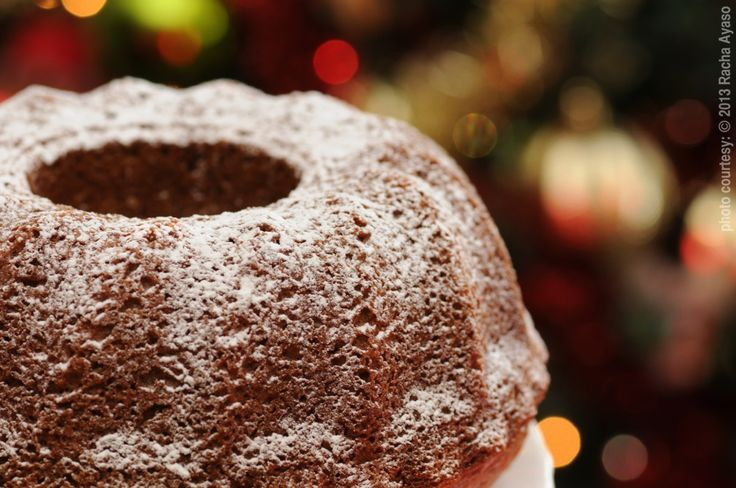 Christmas fruit cake - icing