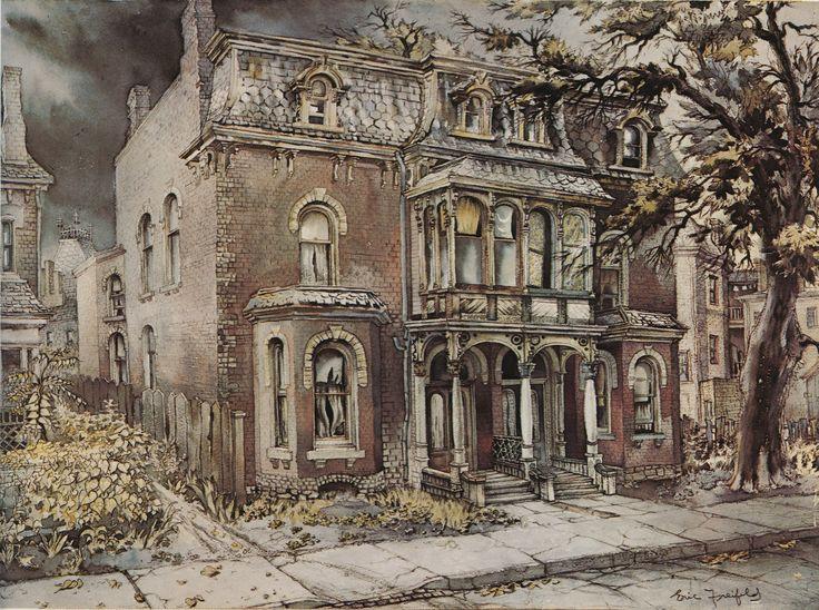 Ichabod (1950) watercolour Eric Freifeld