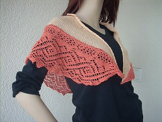 Lace Tuch auf dem Weg nach Hause, Lace Shawl On The Way Home by Ulrike Beringer