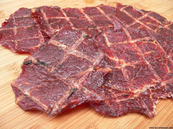 How to make smoked jerky in an electric or wood smoker. Make blackened prime rib jerky, spicy teriyaki jerky and honey mesquite jerky.