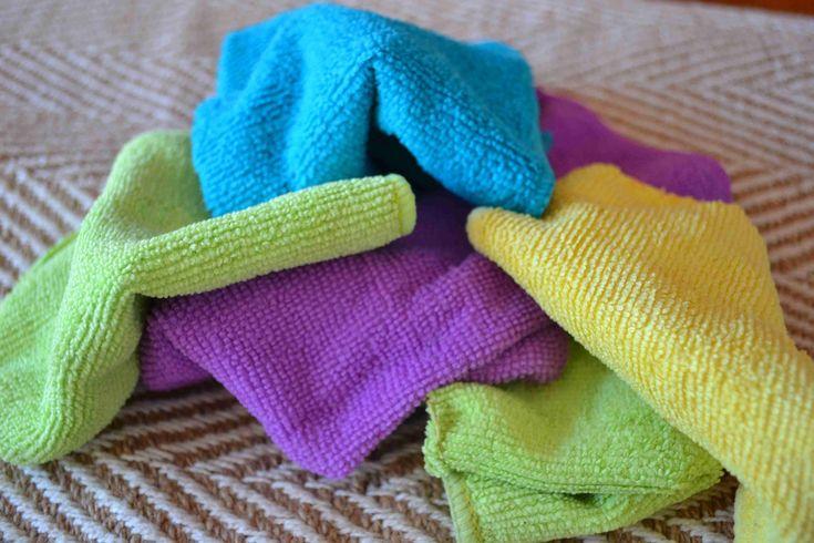 Pourquoi les chiffons micro-fibres sont parfaits pour une maison zéro-déchet !