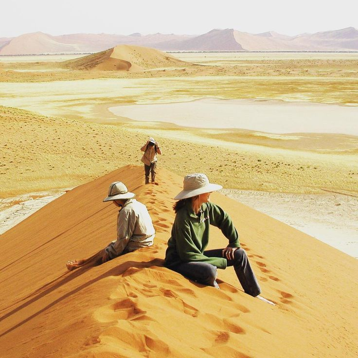 Experience the endless vistas and almost alien landscape of #Sossusvlei in #Namibia on one of our trips. To enquire email reservations@wildfrontiers.com today!   #sanddunes #dunes #namib #desert #beauty #africa #explore #safari #hiking