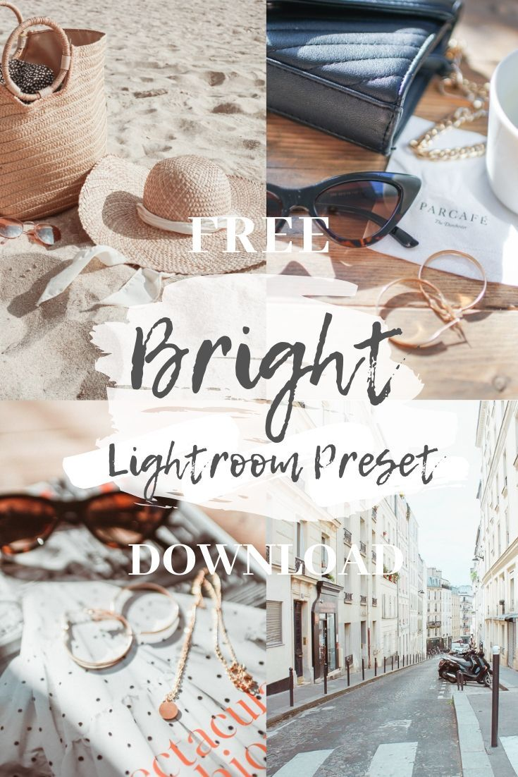 White Lightroom Presets Free Download