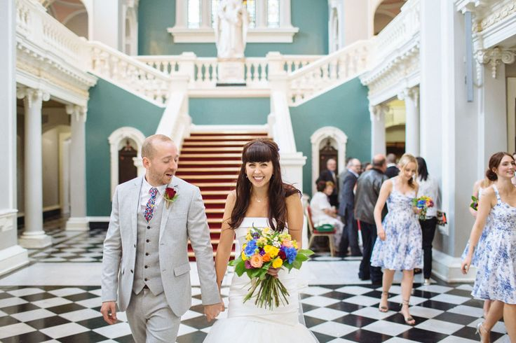 Colourful, Handcrafted Wedding in London · Rock n Roll Bride