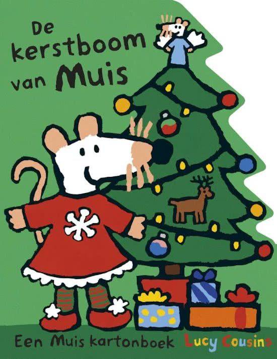 52/52 een mooi kartonboekje over het versieren van de kerstboom met muis. leuk kerst boekje voor peuters
