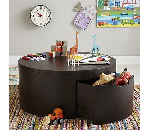 A Coffee Table With Hidden Storage Is Another Great Way To Hide Toys In  Your Apartment Pictures Gallery
