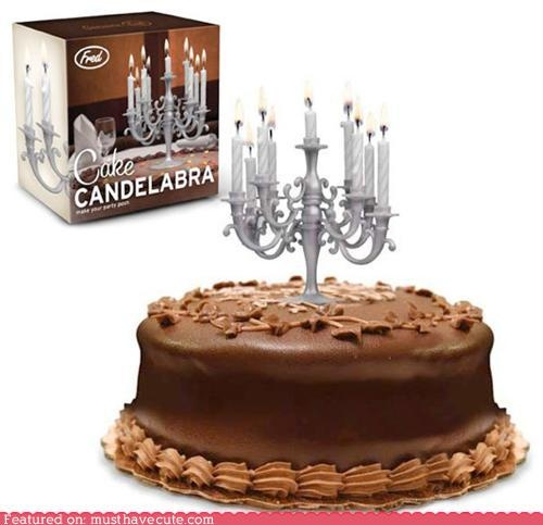 This adds a whole new dimension to birthday candles.