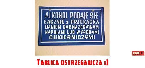 Tablica ostrzegawcza :)