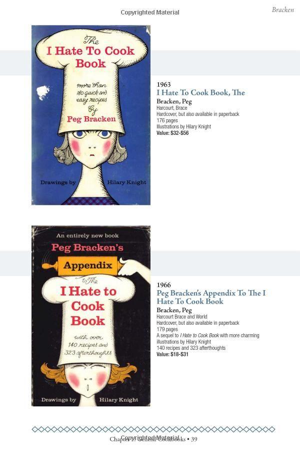 "Antique Trader Collectible Cookbooks Price Guide: Patricia ""Eddie"" Edwards, Peter Peckham: 0074962006691: Amazon.com: Books"