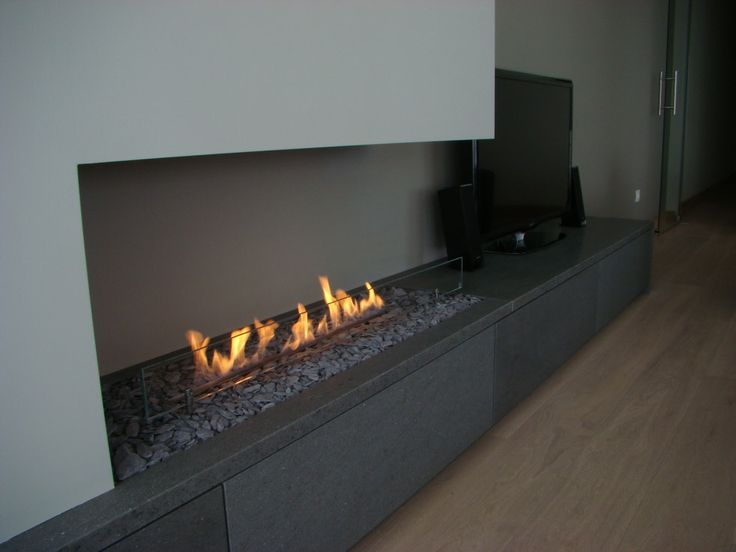 407 best images about Linear Fireplaces (Linear Contemporary) on Pinterest   Electric fireplaces