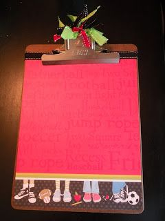 My decorated clipboard. : decorated clipboard ideas - www.pureclipart.com