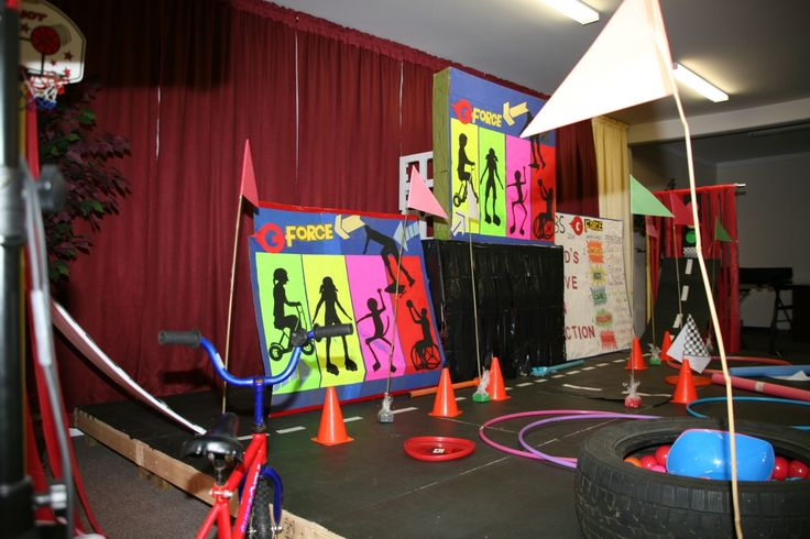 Stage Decoration for G-Force Theme