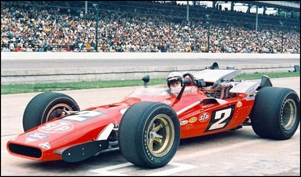 1969 Indy 500 with Mario Andretti